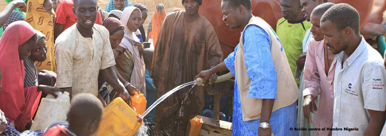 Acción contra el Hambre denuncia la situación de extrema necesidad de las 30 000 personas que huyen de la violencia de Nigeria