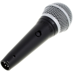 Shure Pga48 Xlr Pga48 Cardioid Dynamic Microphone With