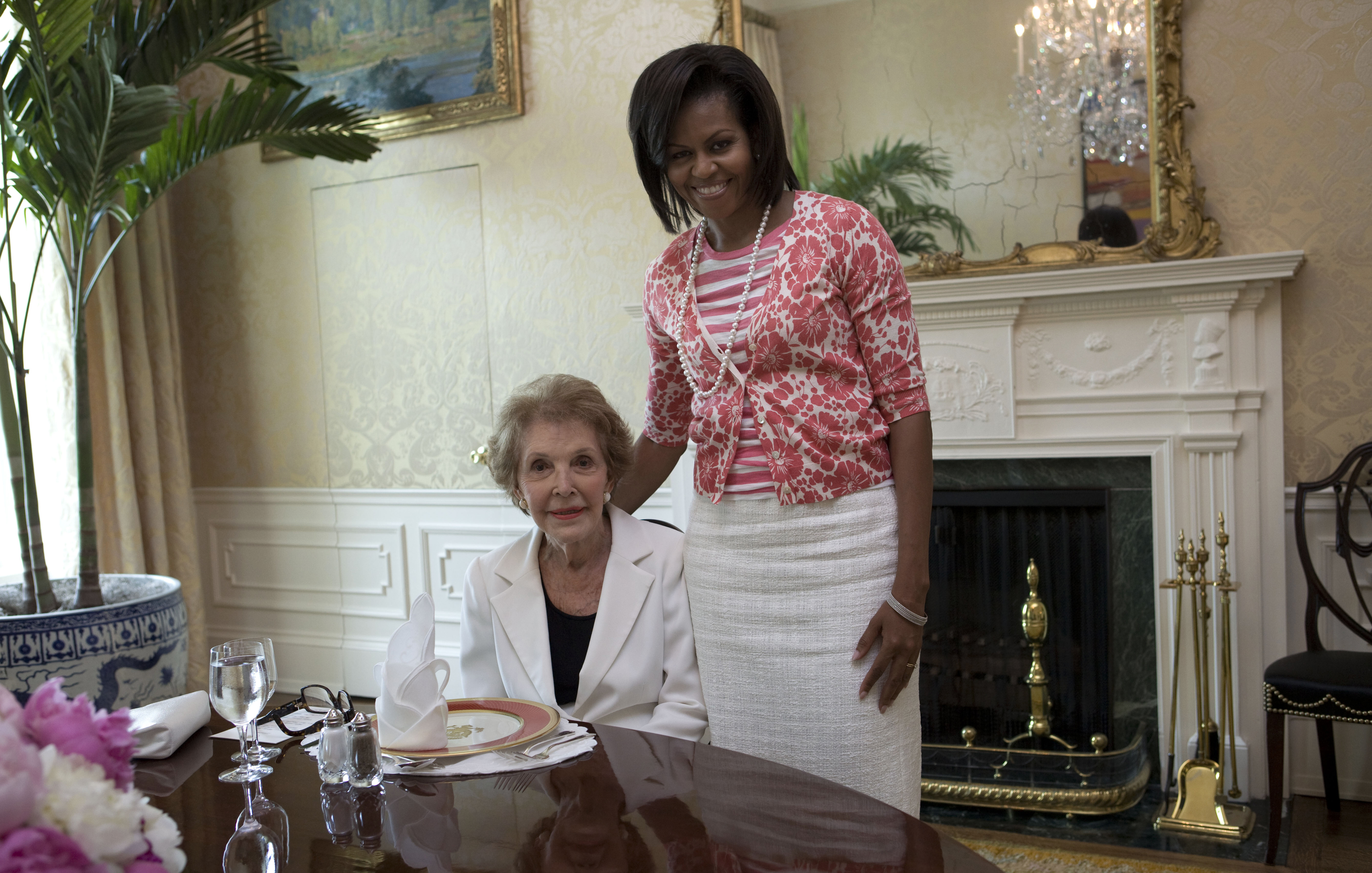 Free Public Domain Image Former First Lady Nancy Reagan