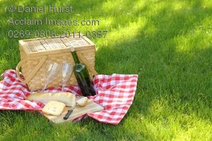Stock Photo of  Outdoor Picnic