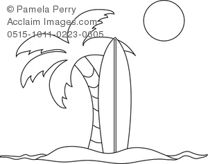 surfboard coloring pages # 30