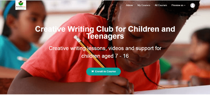 Creative Writing Club Online
