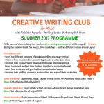 Summer Creative Writing Workshops (Gbagada)