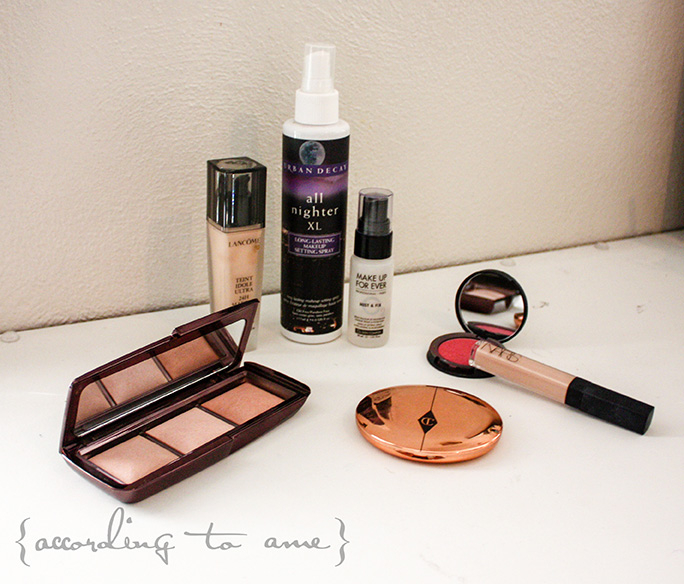 accordingtoame weddingmakeup faceproducts