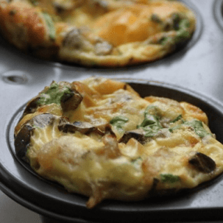 asiago egg muffins