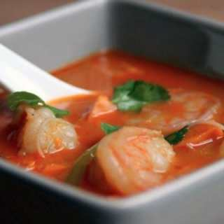 rockin' red curry soup