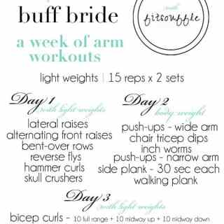 fab arms for the buff bride