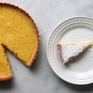 The Best Lemon Bar Tart