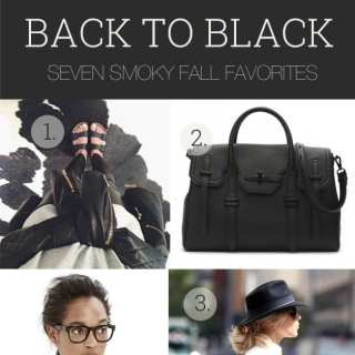 Back to Black: 7 Wardrobe Staples for Fall
