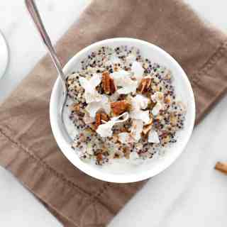 Spiced Chai Breakfast Quinoa