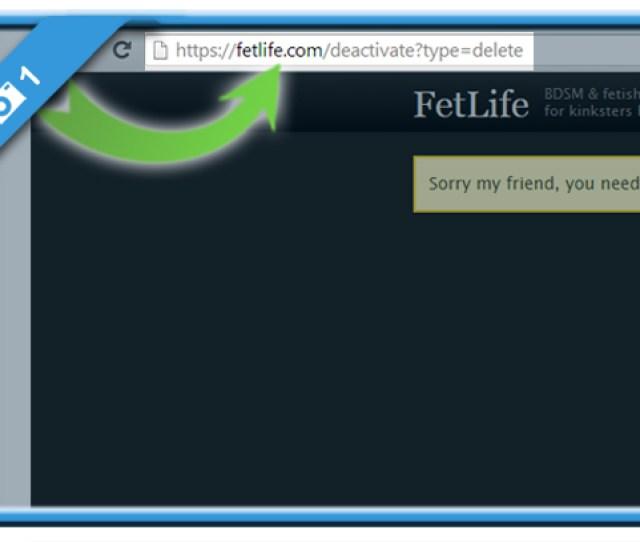 Delete Fetlife Account 1