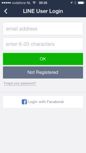 Line user login