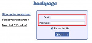 Sign in Backpage