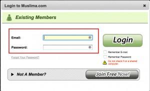 Muslima.com Sign in
