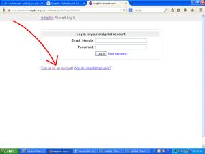 Craigslist Register