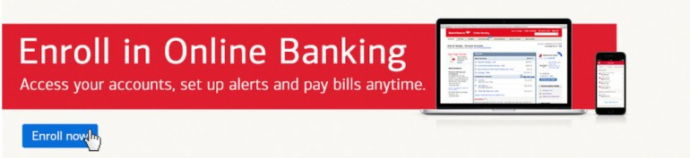 Bank of America enrollment