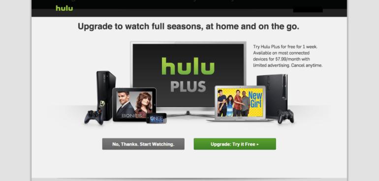 Hulu register