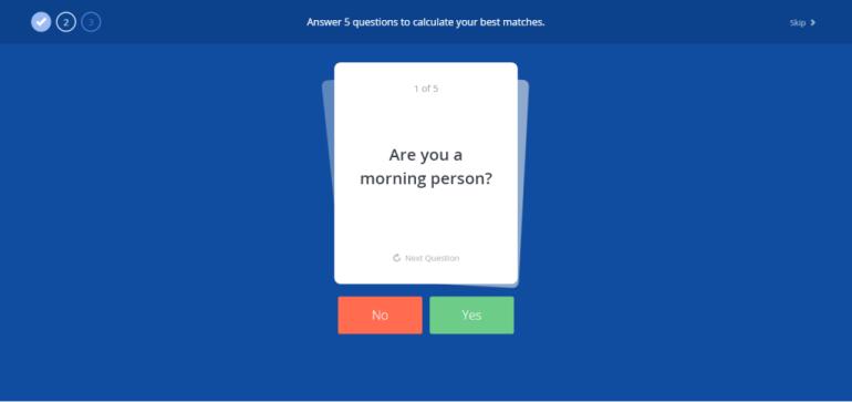 OkCupid yes/no