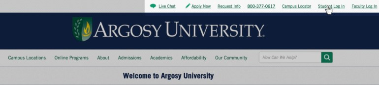 Argosy University login