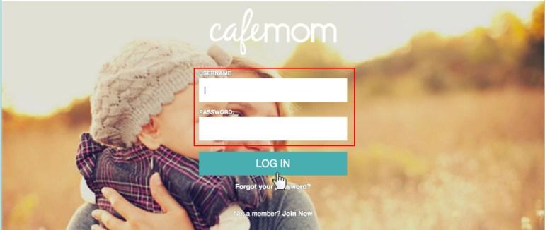 Cafemom.com login