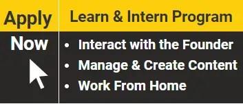Training cum internship with accounting capital