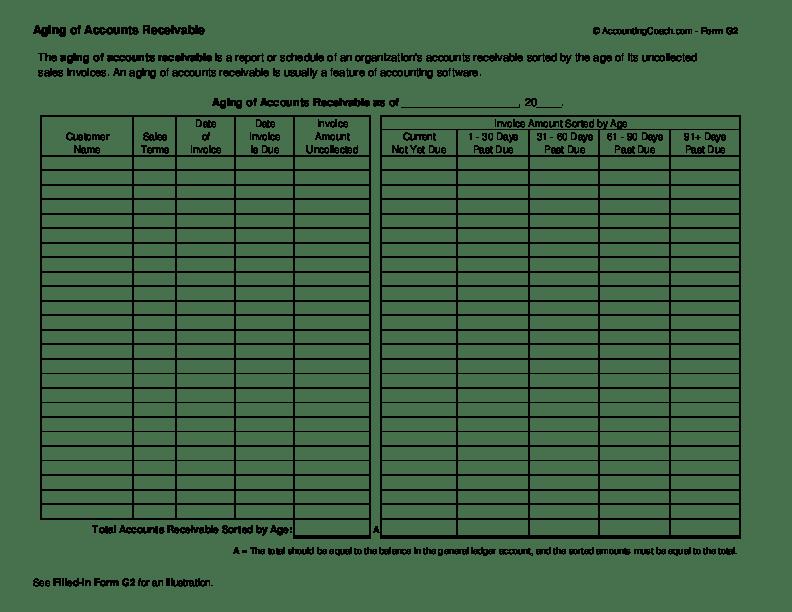 blank general journal template
