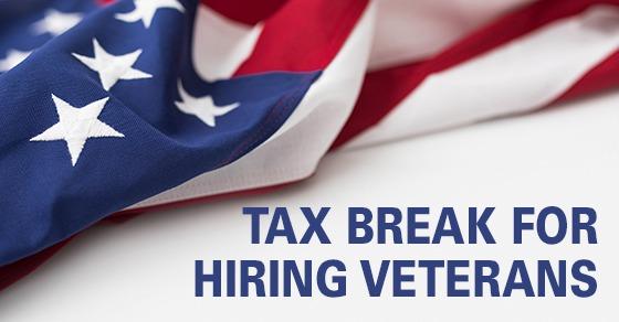 tax break for hiring veterans