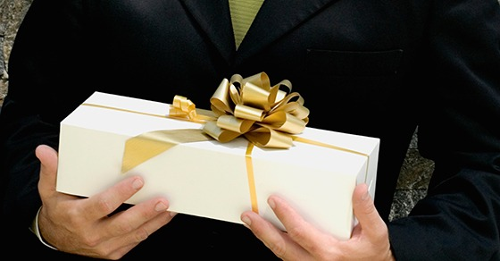 what qualifies as a business gift
