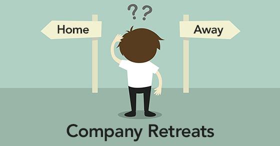 planning a company retreat