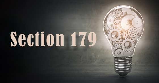 Section 179 depreciation deduction