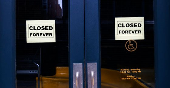 business permanently closing due to COVID-19 Pandemic