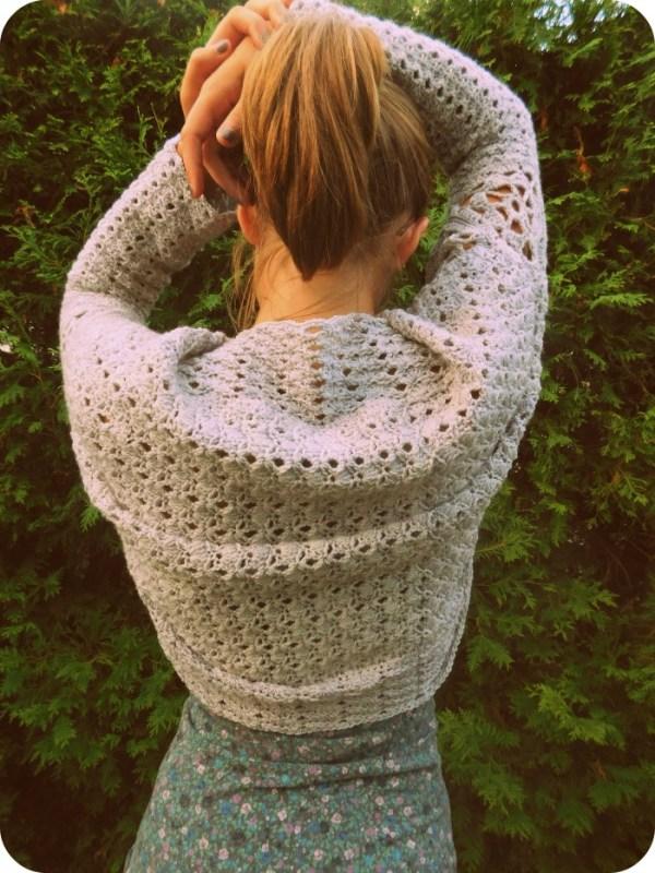 Stella Squared 2.0, shrug, crochet