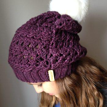 Mélo chapeau / hat, crochet