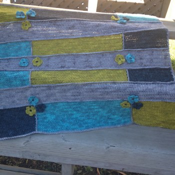 Modern hippie couverture / blanket, crochet