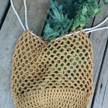 Estelle sac réutilisable/market bag, crochet