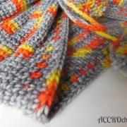 Girl on fire col/cowl crochet