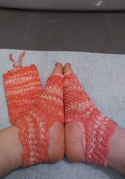 Hélène's Dragonfly Yoga Socks
