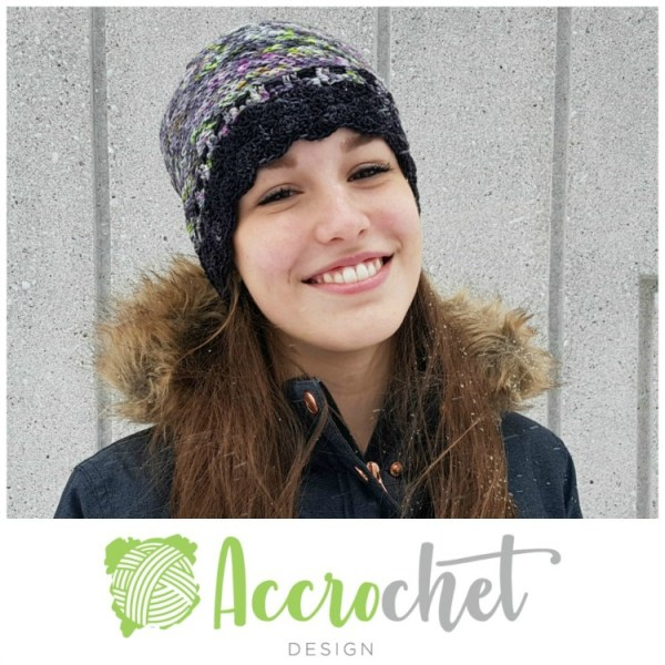 Snow Day Crochet Hat by ACCROchet