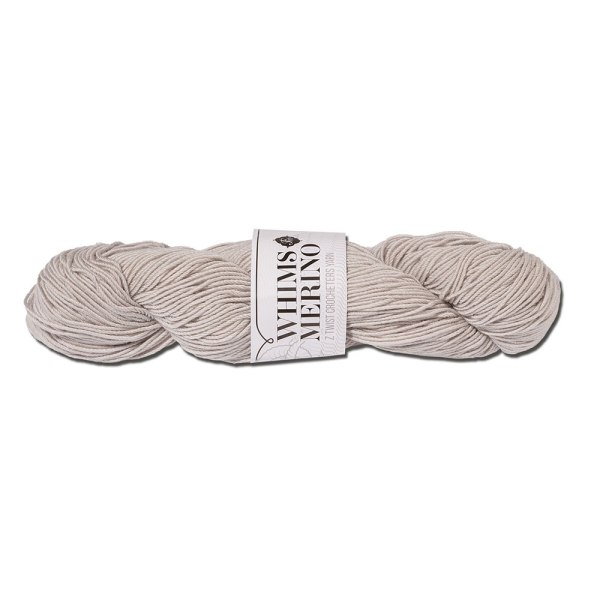 whims furls yarn grey