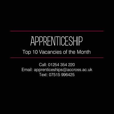 apps 10 vacancies of month