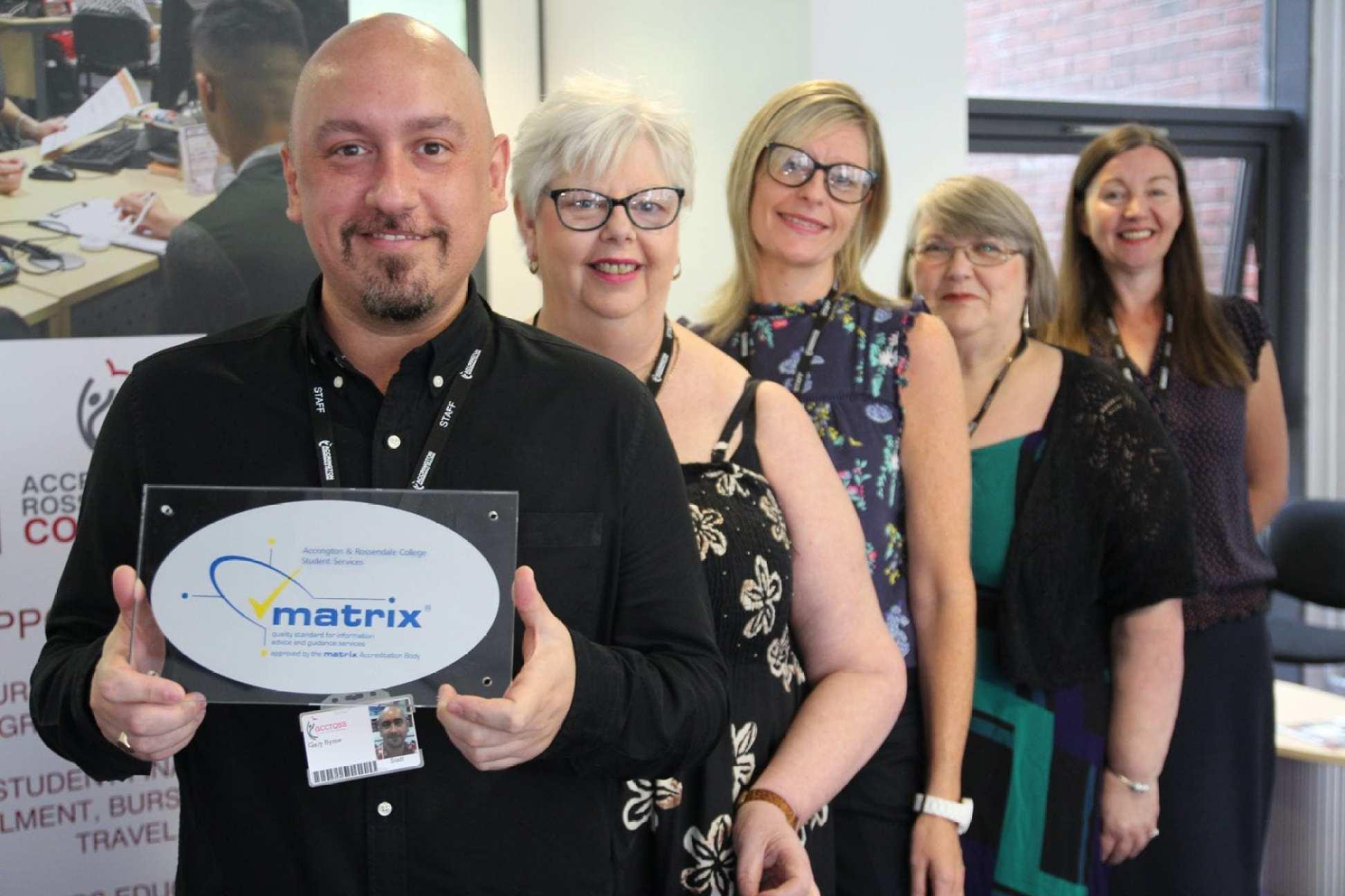 Matrix Stand award