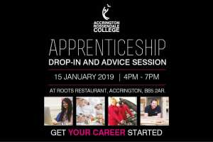 Apprenticeship Event January Accrington & Rossendale College