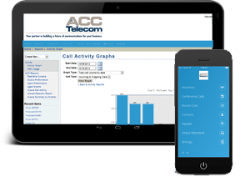 ACC Cloud phone system mobile applications