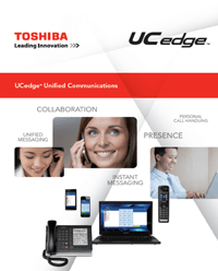 Toshiba UCedge Unified Communications website
