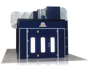 Overhead Space Saver Paint Booth Mechanicals