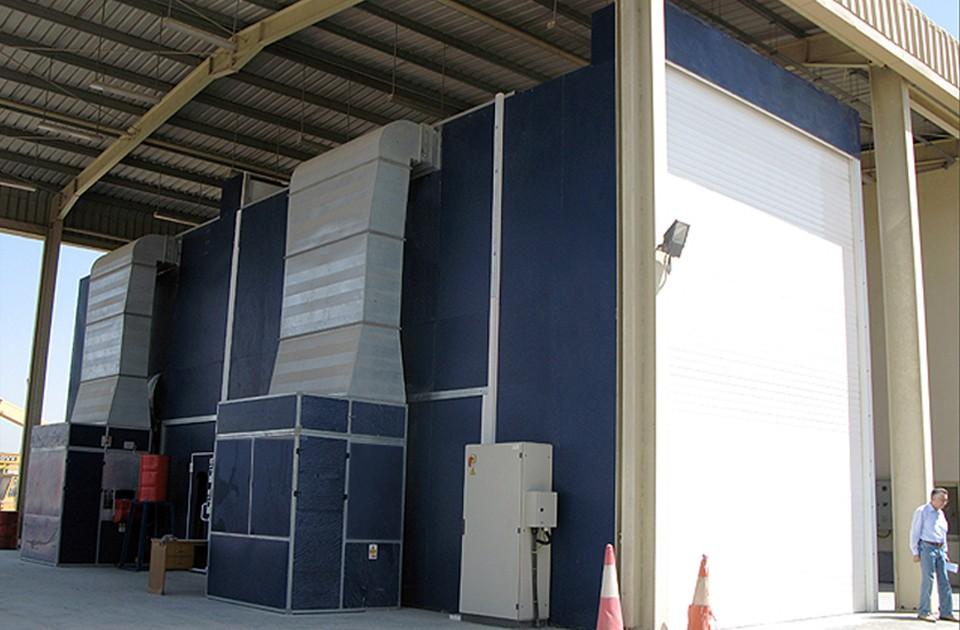 Tx Series Truck Paint Booths Accudraft