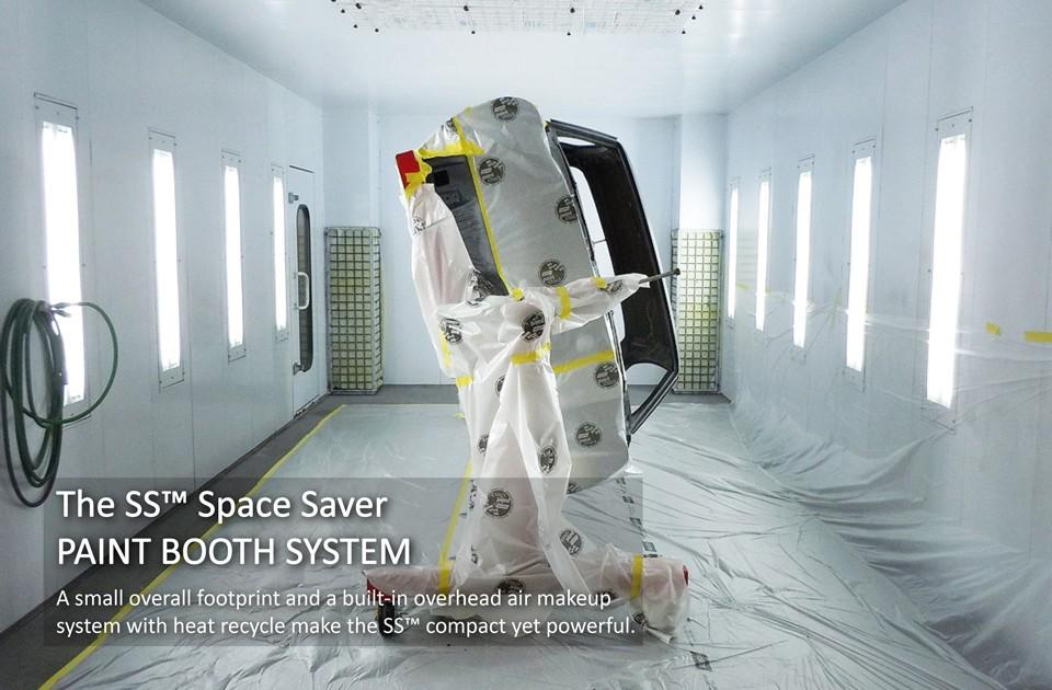 Custom-Car-Rotisserie-in-Accudraft-SS-Semi-Downdraft-Paint-Booth—SS-text
