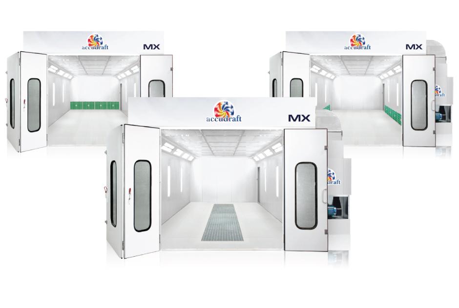 Mx Series Paint Booths Accudraft