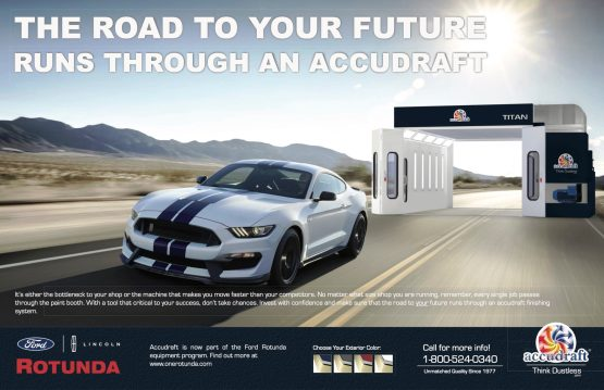 ACCUDRAFT EQUIPMENT NOW AVAILABLE AS PART OF THE FORD ROTUNDA DEALER EQUIPMENT PROGRAM