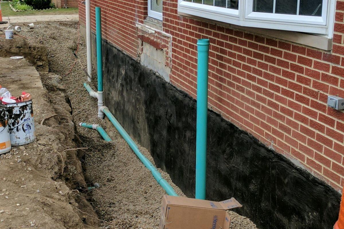 exterior basement waterproofing what